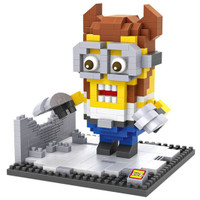 LOZ Lego Nano Block Nanoblock Wolverine Minion
