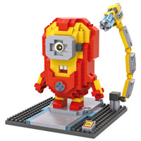 Jual LOZ Lego Nano Block Nanoblock Iron Man Minion Murah