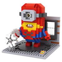 LOZ Lego Nano Block Nanoblock Spiderman Minion
