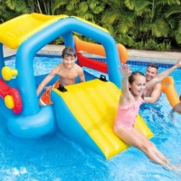 Island With Slide Surf - INTEX 58294