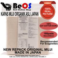 Jual Kapas Organic Muji / Japanese Vape Cotton / Muji organik cotton Murah