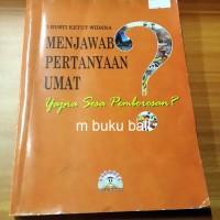 Menjawab Pertanyaan Umat - buku bali hindu