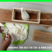 Pemotong Keripik Singkong BERGELOMBANG/Gerigi ( Super Jumbo )