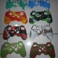 Case Joystick PS2-PS3 motif Warna Banyak