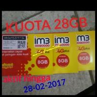 PERDANA INTERNET IM3 INDOSAT OOREDO 28GB