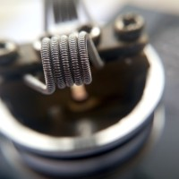 Coil Clapton Stainless Steel SS | Not Kanthal (RDA RDTA RTA) Bisa COD