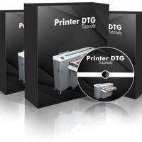 Printer DTG | Mengubah Printer Biasa Menjadi Printer Sablon Kaos Pro!