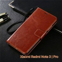 Jual Flip Cover Case Wallet Leather Xiaomi Redmi Note 3 / Pro Murah