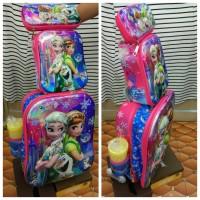 harga Tas Sekolah Anak Trolley 3 Roda 4in1 6d Frozen Tokopedia.com