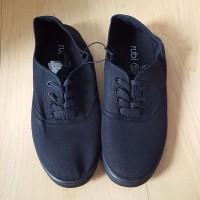 Black Plimsolls Rubi Shoes