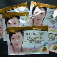 Masker Gold DEOONARD 24k (Masker Lumpur)