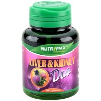 Nutrimax Liver & Kidney Duo 60 Capsules
