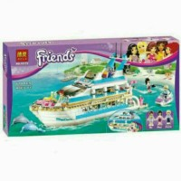 Mainan Lego Bela Friends Dolphin Cruiser Yacth