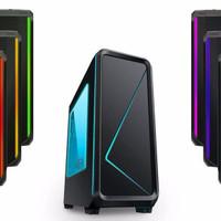 EXCLUSIVE CUBE GAMING RGB CABRION BLACK Acrylic Window1X12CM RGB Led F
