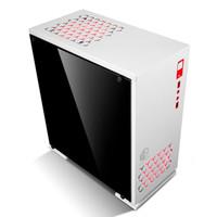 PROMO CUBE GAMING VRED WHITE - M ATX - Full Acrylic Window - 1x12CM Re