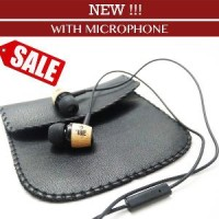 EARPHONE JBL Wood M330 With Mic High Quality Design Wooden In-Ear