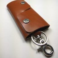 Gantungan Kunci Dompet Stnk Unik Dan Simpel Bahan Kulit Sapi Asli