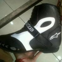 Sepatu touring road race/riding/di lapisi protector