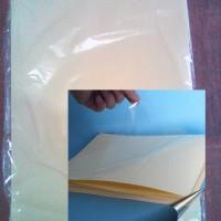 plastik pelapis laminasi untuk tahan air sticker A4