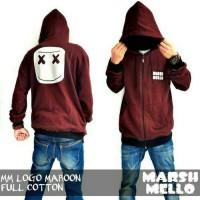 Mars Mello Logo Maroon / Jaket Murah / Grosir Jaket