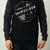 Quik Silver Black / jaket Murah / Grosir Jaket
