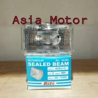 harga Lampu Depan Seal Beam Kotak Kaki 2 Dan Kaki 3 (truck Nissan Btx/ck12) Tokopedia.com