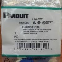 modular panduit cat 6 CJ688TPBU / panduit / modular data
