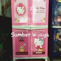 harga Lemari Plastik Napolly - Hello Kitty 4 Pintu (KTSH) Tokopedia.com