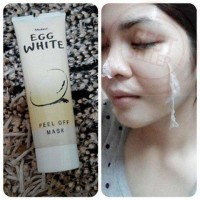EGG WHITE PEEL OFF MASK - MASKER TELUR