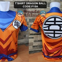 Kaos Sublim anime,kaos dragon ball,son goku (spade shop)