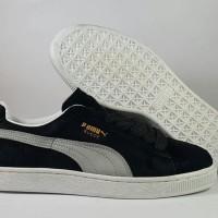 harga Sepatu Running Puma Suede Black White (premium Import) Tokopedia.com
