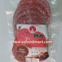 Jual Daging Burger Sapi Ayoma 250 gr isi 10 pcs Murah