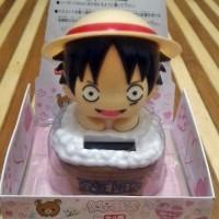 Pajangan Mobil dll, One Piece Luffy King Pirate, Tenaga Solar Keren