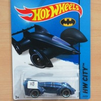 HOT WHEELS BATMAN LIVE! BATMOBILE BLUE