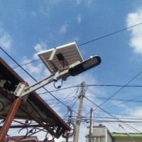 harga PJU lampu jalan tenaga surya 12 Watt Solar Street LED Tokopedia.com
