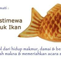 1 Paket: 15 pc. Waffle Ikan Besar (Fish Waffle, Taiyaki, Bungeoppang)