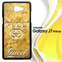 Gucci gold logo Z3350 Casing HP Samsung Galaxy J7 Prime Custom Case C
