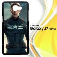 chris evans captain america wallpaper Y1441 Casing HP Samsung Galaxy J
