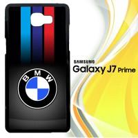 Carbon Fiber Bmw Logo X3210 Casing HP Samsung Galaxy J7 Prime Custom