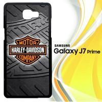 Harley Davidson logo Z3250 Casing HP Samsung Galaxy J7 Prime Custom C