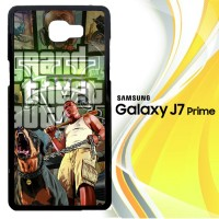 grand theft auto v Z2522 Casing HP Samsung Galaxy J7 Prime Custom Cas