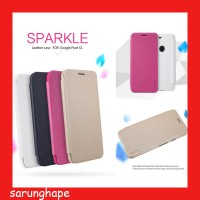 Google Pixel XL Nillkin Sparkle Leather Case Casing Cover