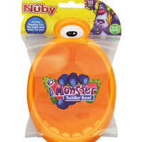 Nuby Toddler Monster Bowl Tempat Makan Anak Mangkok Makan Bayi