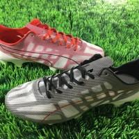 Sepatu Bola Puma EvoSpeed SL He White Black Red