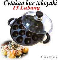 Alat Cetakan Kue Takoyaki 15 Lubang + BONUS Buku Resep Kue