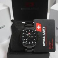 harga Swiss Army 66223 All Full Black For Men Original Tokopedia.com