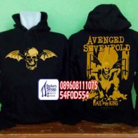 SWEATER HOODIE JAKET JUMPER AVENGED SEVENFOLD A7X HAIL TO THE KING