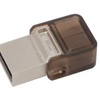 KINGSTON USB Drive 2.0 DataTraveler MicroDUO OTG 8 Gb