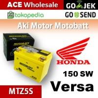 harga Aki kering/ Verza 150 SW Honda/ MOTOBATT MTZ5S/ accu gel motor AB Tokopedia.com