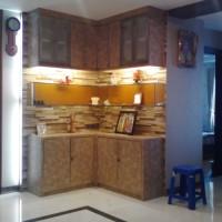 kitchen set modern minimalis terpercaya